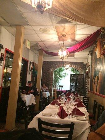 Soro S Mediterranean Grill Dining Room