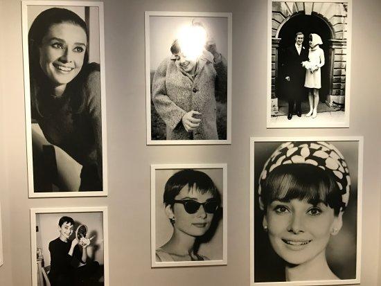 455e8770ca5ed3 Mooi de jurken met de foto met Jackie Kennedy op de achtergrond ...
