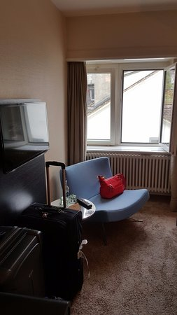 Little Sitting Area By The Heater Picture Of Hotel Wellenberg