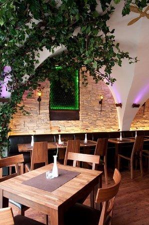Soemmerda, Alemania: Tolles Ambiente in einem alten Gewölbe