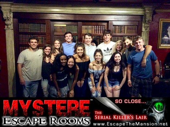 Escape Room New Orleans Serial Killer