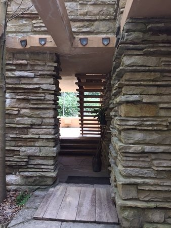 Fallingwater: A small section