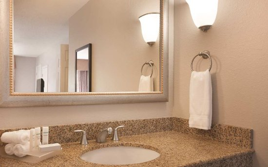 Homewood Suites by Hilton Charlotte Airport: Guest Bathroom with Toiletries