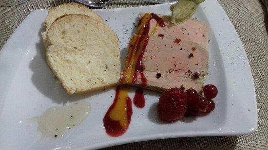 Visan, France: Foie gras