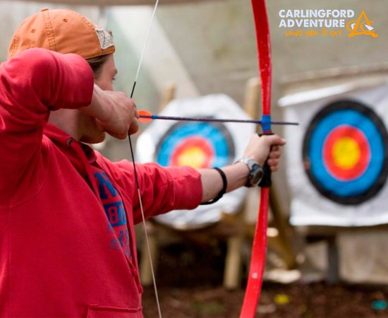 Carlingford Adventure Centre: Archery - Still an old favourite for School Tours!