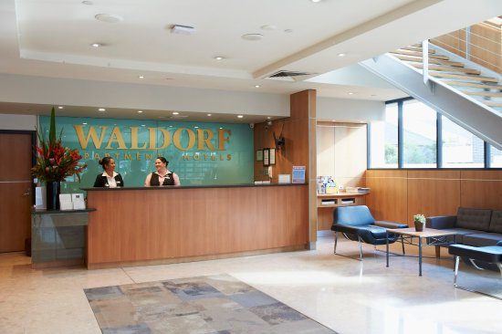 Parramatta Waldorf Apartment Hotel: Hotel Reception