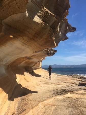 Tasmania, Australia: Exploring the Painted Cliffs