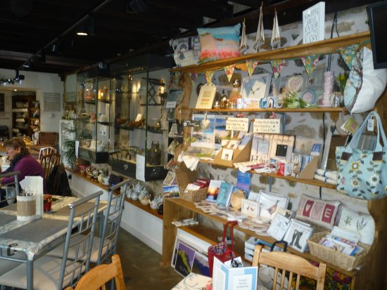 Ceres, UK: Displays and sale items