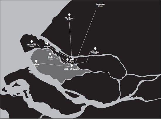 Spijkenisse, Nederland: Map