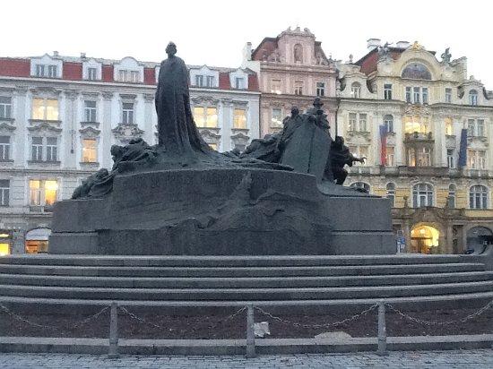 Jan Hus Monument: Monumento Jan Hus