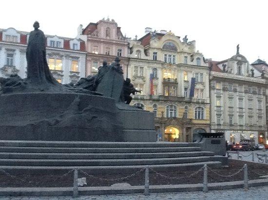 Jan Hus Monument: Particolare