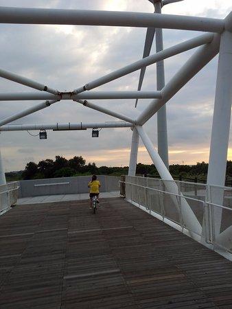 Hsinchu, Taiwan: 自行車道-白雲橋