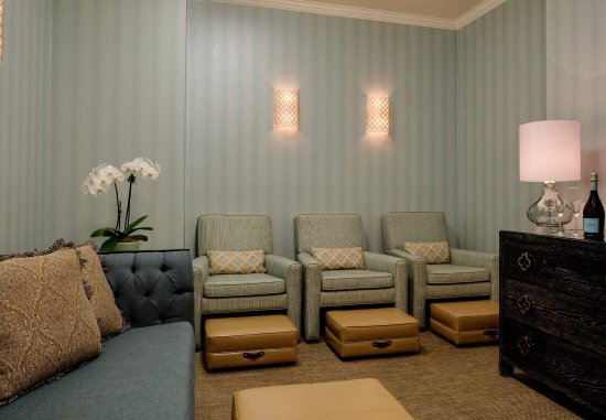 New Castle, Nueva Hampshire: Spa - Seating Area