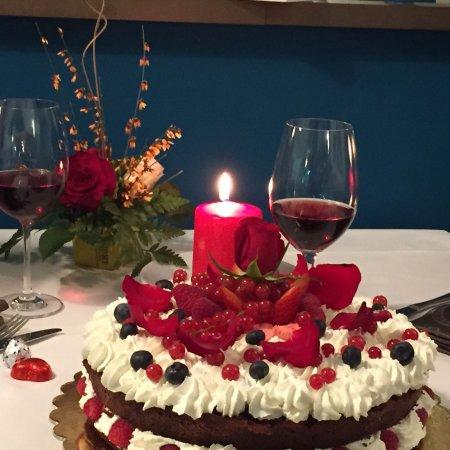 Torta di San Valentino - Picture of Le Terrazze, Chieri - TripAdvisor