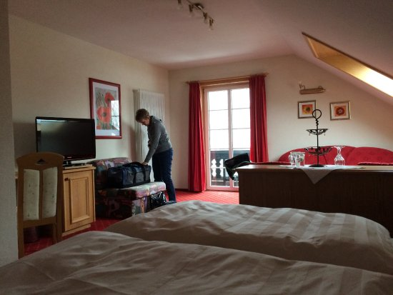 Hotel Forsthaus: hotel kamer