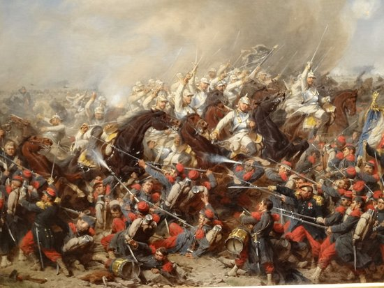 Dignes l'un de l'autre - Victor Hugo La-melee-des-combattants
