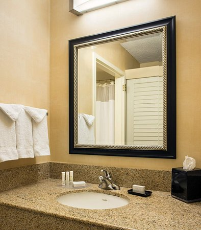 Pleasanton, Kalifornien: Suite Bathroom