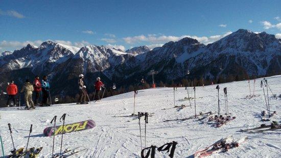 Brunico, Italy: Kronplatz - Panorama of surrounding peaks