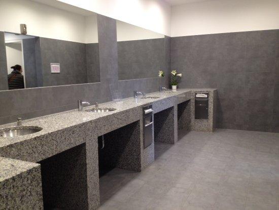 The Style outlets: Des toilettes d'une propreté impressionnante