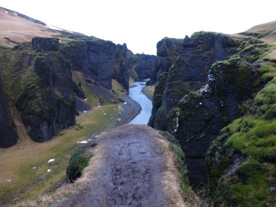 Kirkjubaejarklaustur, Islanda: Cañón Fjadrargljufur