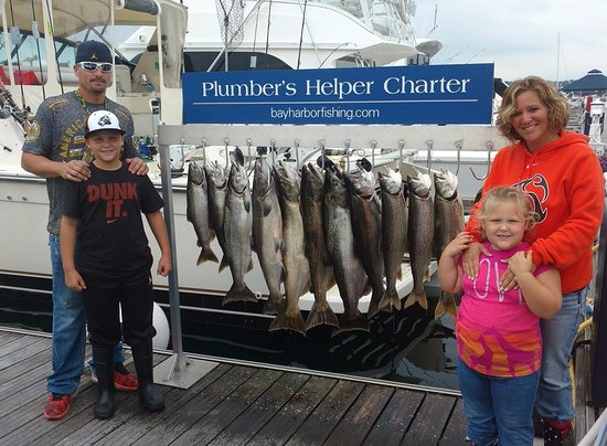 Bay Harbor, MI: We love fishing with families and kids.