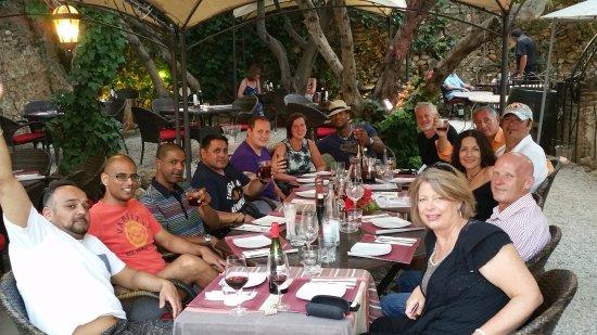 Aroma Cafe & Secret Garden: Tennis Group in the Secret Garden