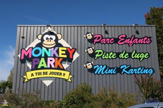 L'Union, Frankreich: monkey park