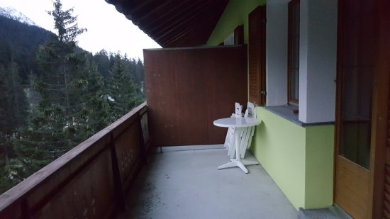 Valbella, Sveits: Our balcony