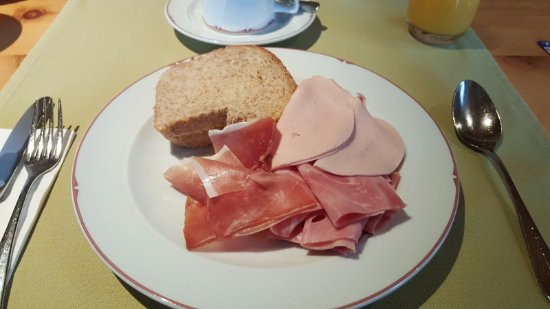 Valbella, Switzerland: Cold cuts and cured meat!