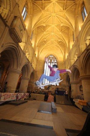 Malmesbury Abbey skate 2017 - fantastic 3 day event