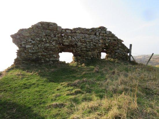 St Monans, UK: castle walls