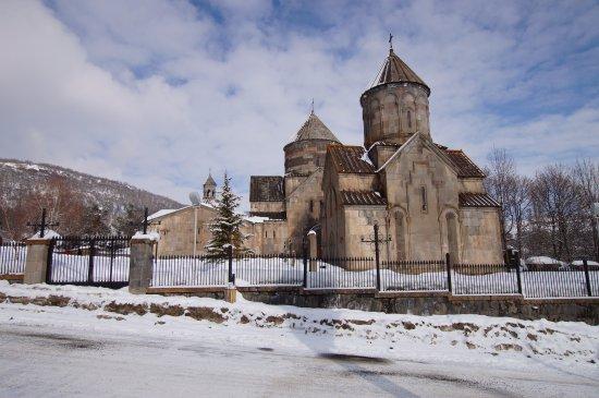 Tsakhkadzor, Arménie : монастырь Кечарис