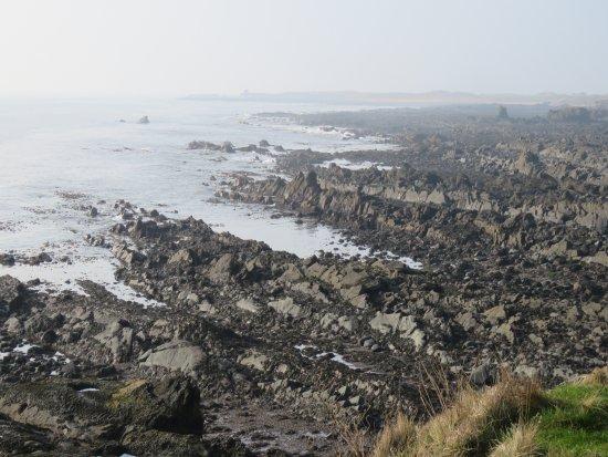 St Monans, UK: view of the shore