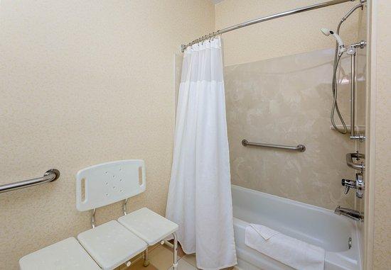 Kokomo, Ιντιάνα: Accessible Guest Bathroom