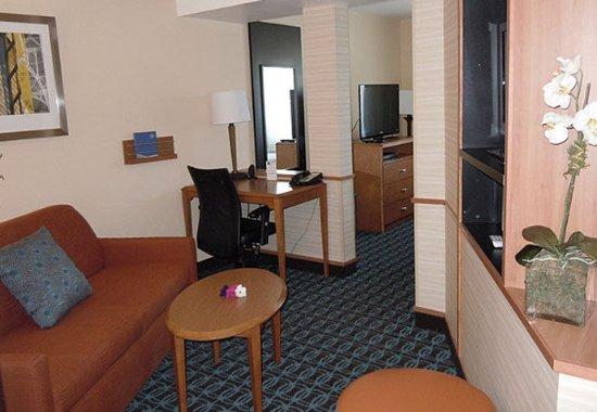 Ukiah, Kaliforniya: Executive King Suite    Living Area