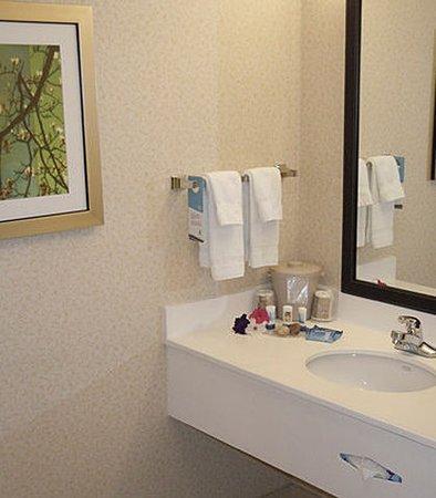 Ukiah, Kaliforniya: Suite Bathroom