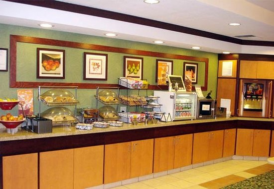 Ukiah, Kaliforniya: Breakfast Bar
