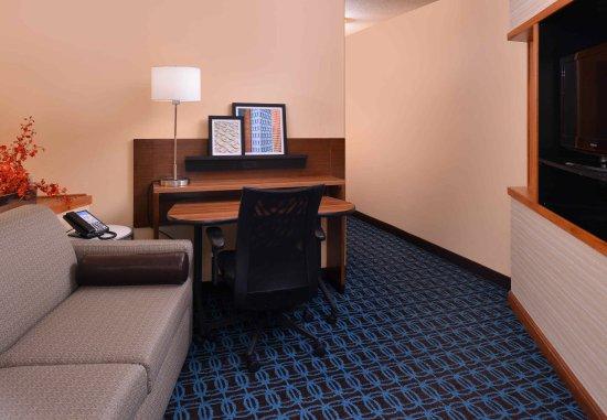 แอนเดอร์สัน, เซาท์แคโรไลนา: Executive King Suite - Living Area