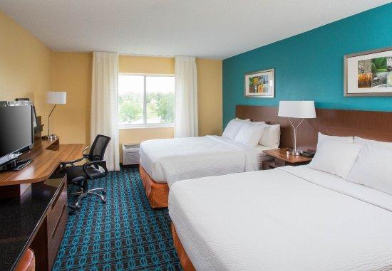 Ashland, Кентукки: Queen/Queen Guest Room