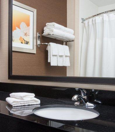 Ashland, Кентукки: Suite Bathroom