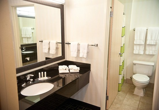 Brookings, Güney Dakota: Spa Suite Bathroom