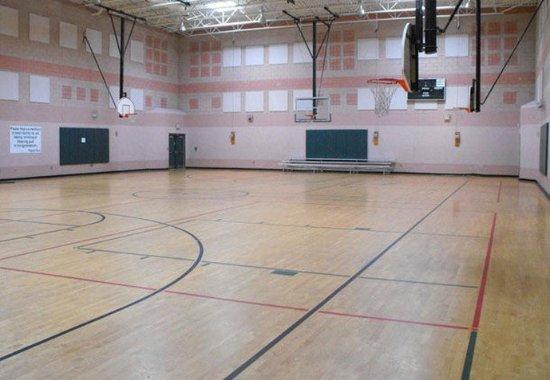 Hinesville, GA: YMCA Basketball Court