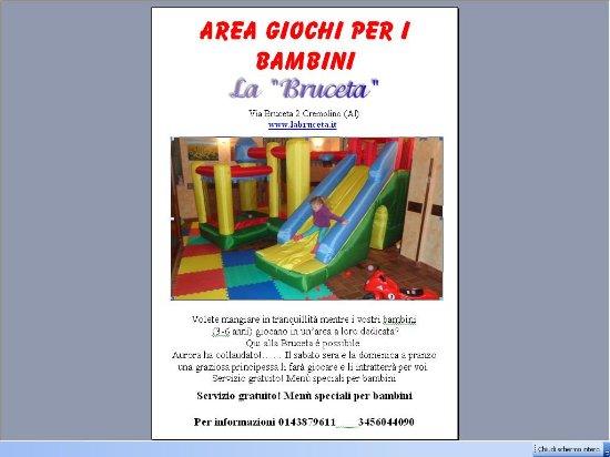 Cremolino, Italy: Area Giochi
