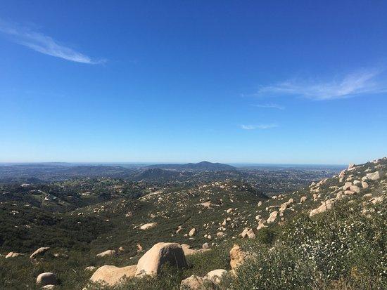 Poway, كاليفورنيا: Vue en cours de montée