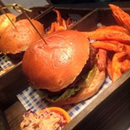 Charminster, UK: Our amazing home made burgers