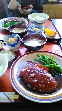 Kisarazu, Japan: ランチハンバーグ