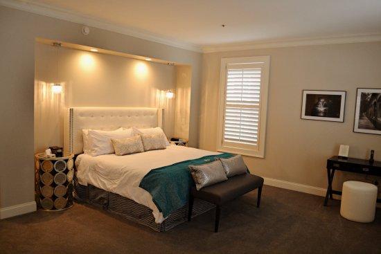 Hartsville, SC: Balcony Suite Bedroom