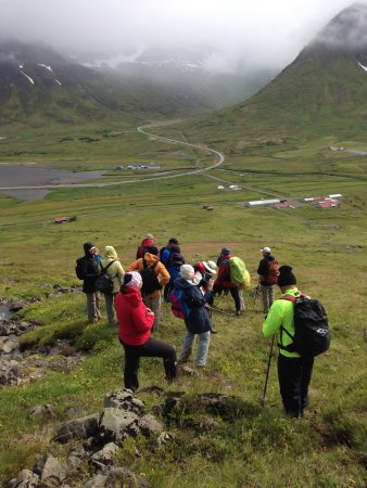 Guided tours. Local folks who know every story  about Siglufjordur and its history.
