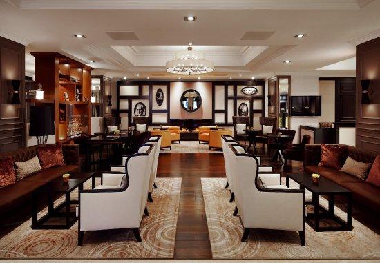 Hamburg Marriott Hotel : Lobby Area