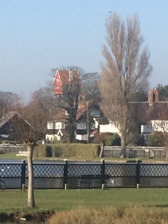 Thorpeness, UK: View from outside.
